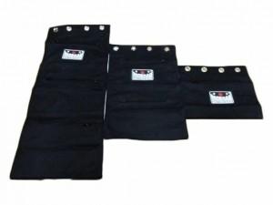 MORGAN CANVAS 1-2-3 SECTIONAL WALL BAGS
