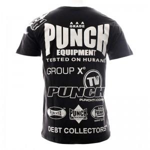 Punch Black Sponsorship T-Shirt - Youth
