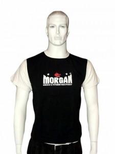 MORGAN T-SHIRT-BLACK