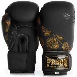 Womens Boxing Gloves - Skull Art